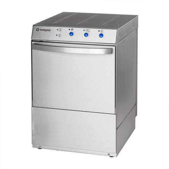 Zmywarka uniwersalna 400/230V z dozownikiem płynu myjącego i pompą zrzutową   Stalgast 801507